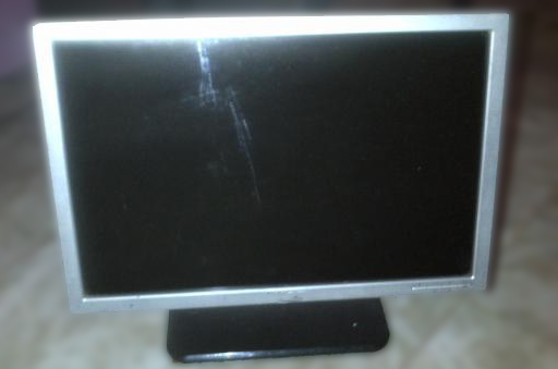 911 computer lcd monitor microfissure expanding