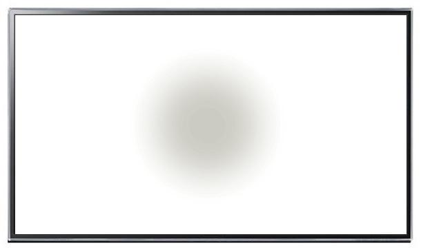 911 Computer monitor lcd white spot
