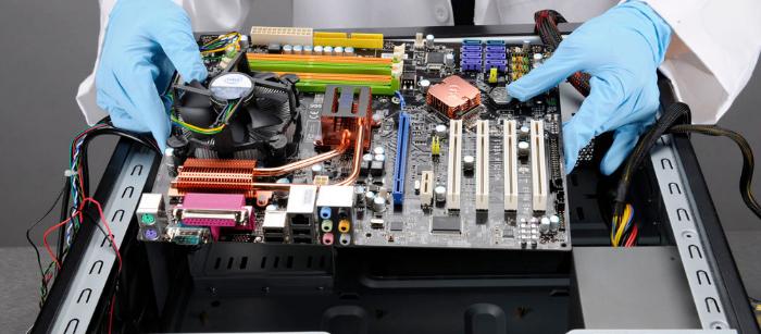 911 computer hardware maintenance