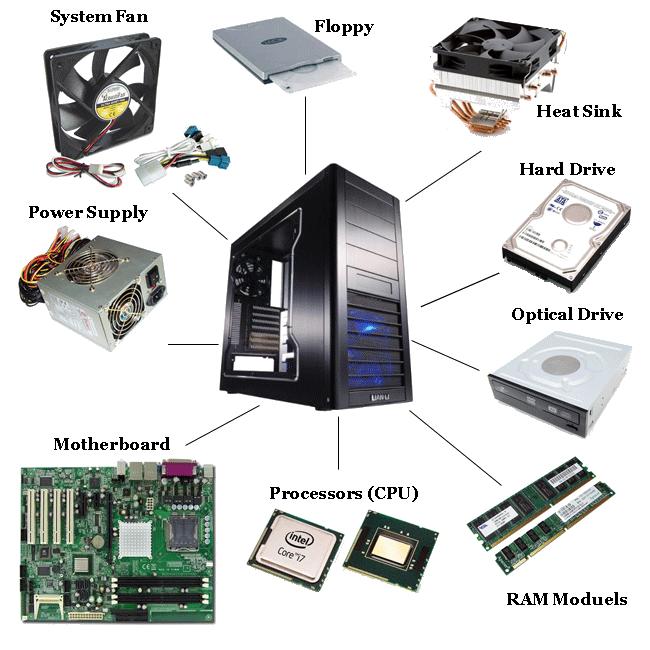 911 computer pc hardwares parts