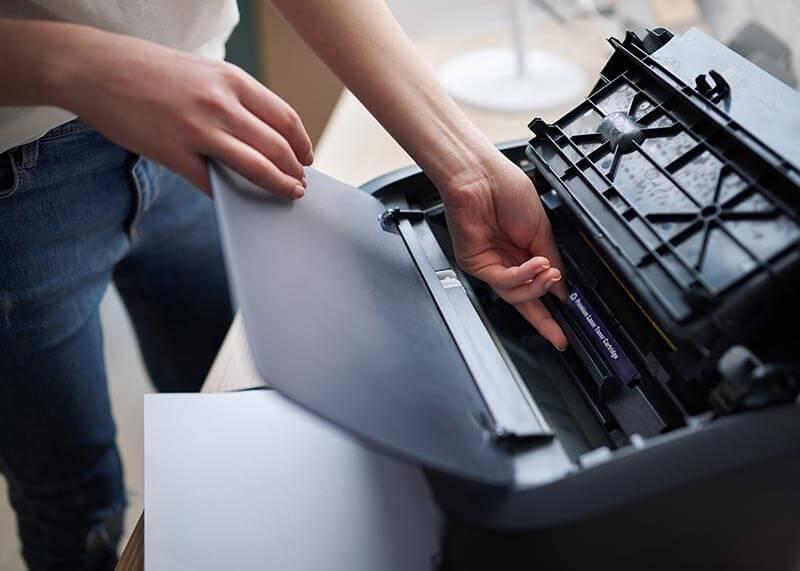 hp printer installation